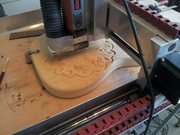 CNC Guitar Body, Neck, Inlay