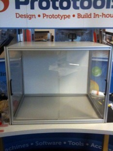 Protective Cabinet with Sliding Doors