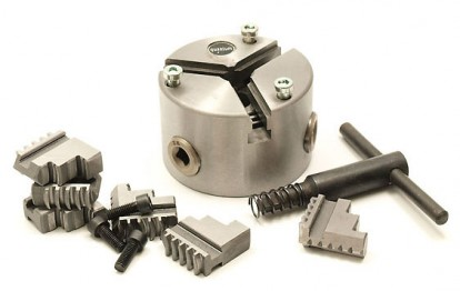 3/4 jaw chuck to hold items for 4th Axis Rotary Table
