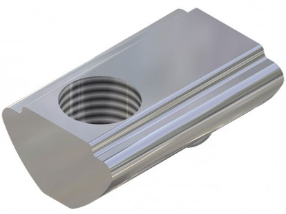 T-Groove Nuts for 8mm Slot  aluminium Profile Systems, 6mm Threaded Hole